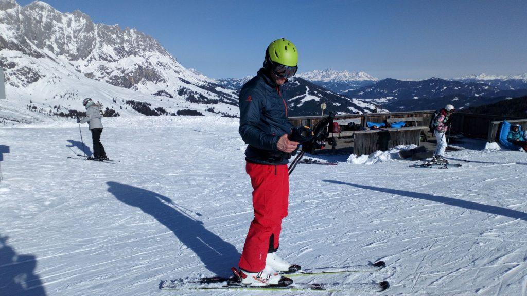 Josef Lutzenberger ski Hochkönig